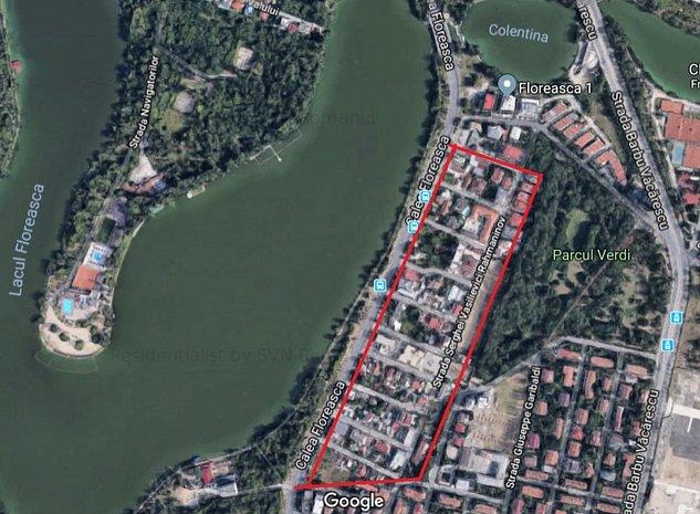 Teren 666 mp Floreasca parc Verdi Rezide: .