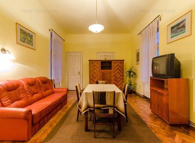 Garsoniera la casa, foarte spatioasa, 60mp, curte, zona centrala - imaginea 1