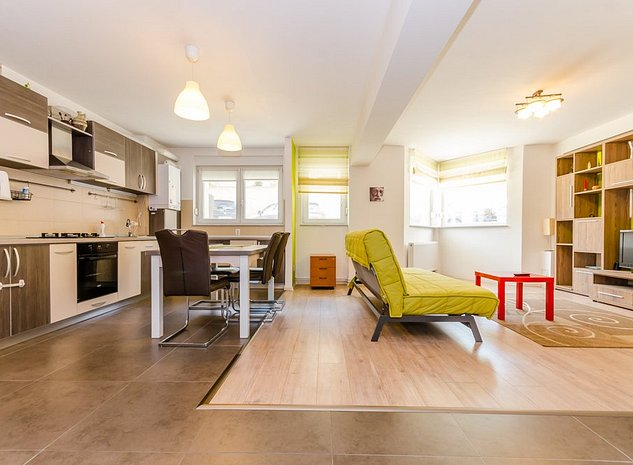 Apartament 3 camere mobilat, 81mp, bloc nou,loc de parcare, Padurea Dumbrava - imaginea 1
