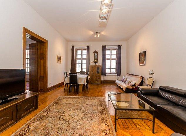 Apartament 2 cam, modern, 120 mp, Ultracentral, 2 min de Piata Mare - imaginea 1