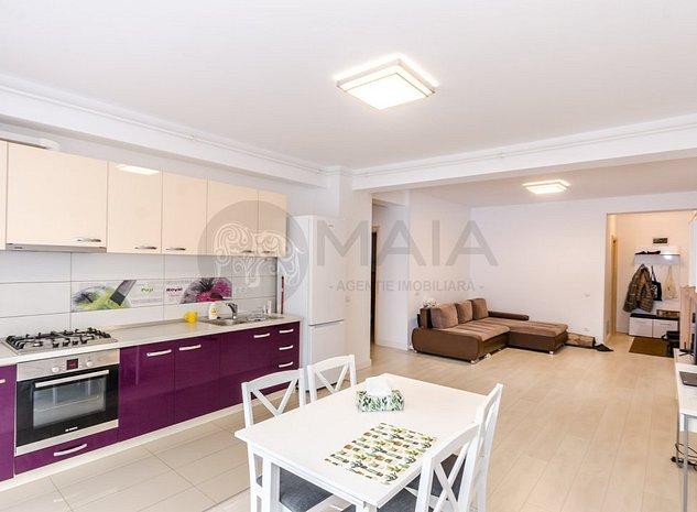 Apartament 3 camere, 2 bai, modern, lift, bloc nou, parcul Sub Arini - imaginea 1