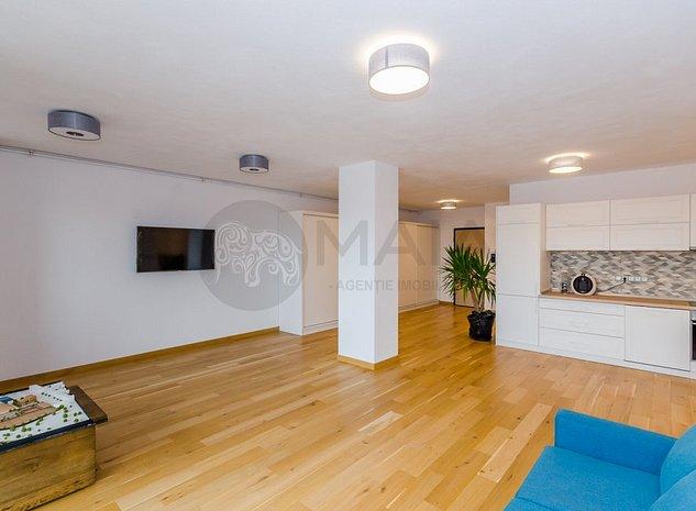 Apartament 3 camere NOU, parcare subterana, lift, zona Centrala - imaginea 1