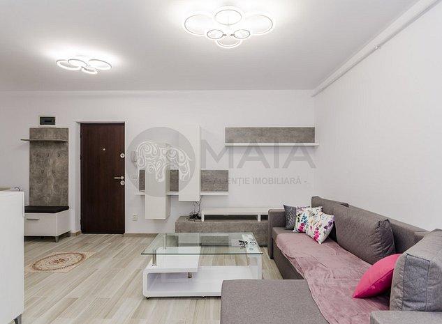 Apartament 2 camere, NOU, prima inchiriere, lift, parcare, City Residence - imaginea 1