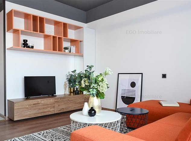 De vanzare apartament 2 camere cozy&chic, 2 terase cu priveliste,garaj - imaginea 1