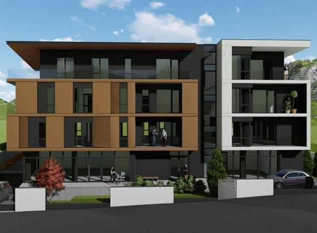 Rhodium Properties| Apartament 3 camere | Orientare NEV| terasa 66.33 mp| - imaginea 1