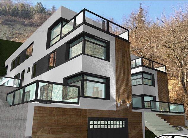 Casa noua, tip duplex, arhitectura moderna, materiale de calitate - imaginea 1