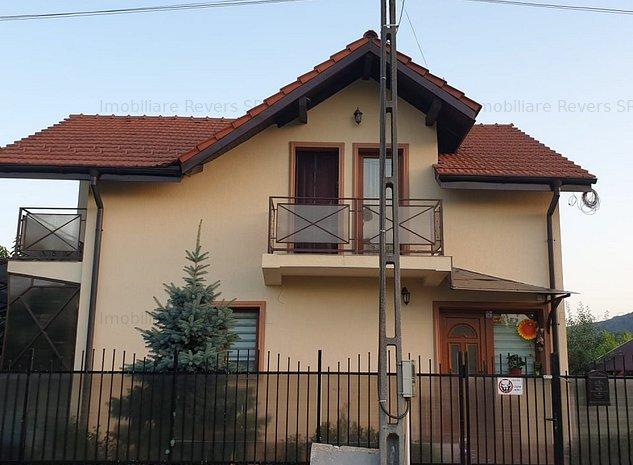 Casa noua si cocheta in zonă liniștită lângă oras teren 500 sau 1000 mp - imaginea 1