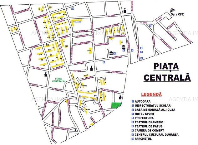 Ap. 3 cam. dec. Piata Centrala, P-665 - imaginea 1