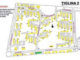 Apartament de închiriat 2 camere, în Galati, zona Tiglina 2