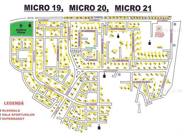 Inchiriez Ap. 1 cam. Micro21. P-25 - imaginea 1