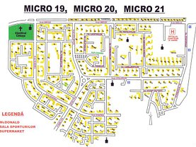 Apartament de vânzare 3 camere, în Galaţi, zona Micro 20