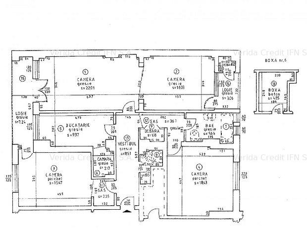 Apartament 4 camere Maria Rosetti - imaginea 1