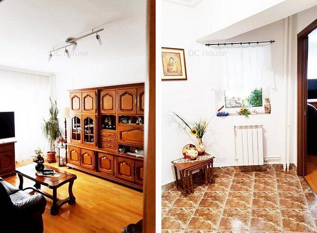 Apartament 3 camere in bloc tip monolit reabilitat termic - imaginea 1