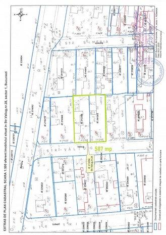 Teren 587 mp Baneasa - Aviatiei strada Valiug - imaginea 1