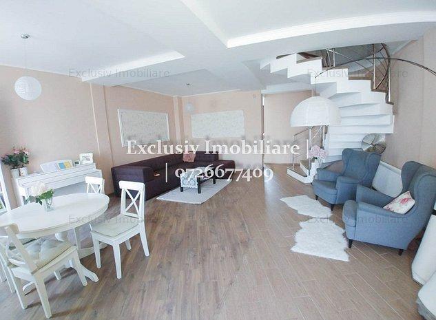 Casa P+1 LUX - 3 cam + dressing, 3 bai, gaze, curte generoasa | zona de vile - imaginea 1