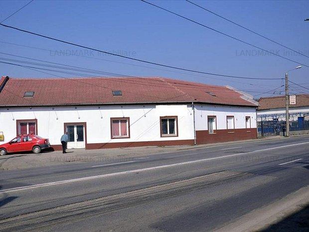 Exclusivitate! Show room,depozit si parcare,Calea Lugojului Timisoar - imaginea 1