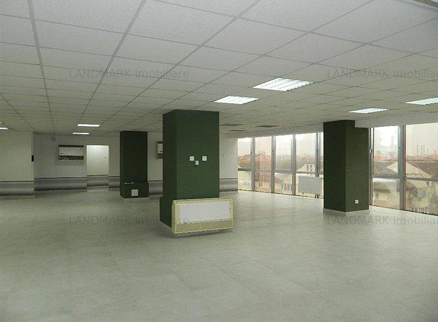 Spatiu birouri , 160 mp utili open space , semicentral. - imaginea 1