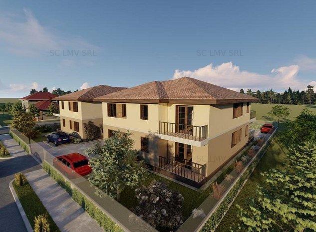 Apartament nou in vila cu 6 ap, 2 camere, OCUPABIL IMEDIAT!!! Timisoara-Giroc - imaginea 1