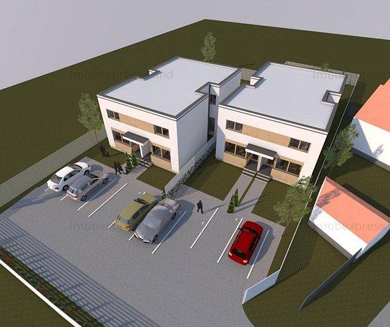 Duplexuri la ROSU, Chisoda, 500 m de primarie, Asfalt, Utilitati - imaginea 1
