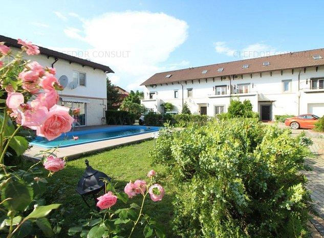 Vila in complex cu piscina, in apropiere de Iancu Nicolae - imaginea 1