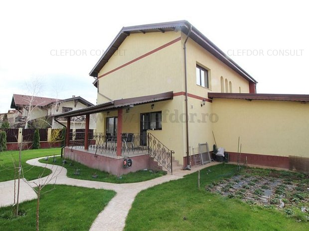 Vila cu 5 camere de inchiriat in zona Pipera - imaginea 1