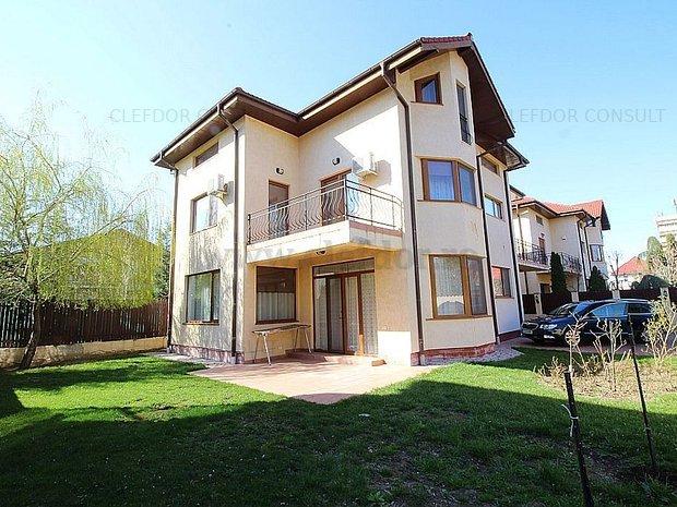 Vila Individuala de inchiriat in zona Baneasa-Iancu Nicolae - imaginea 1