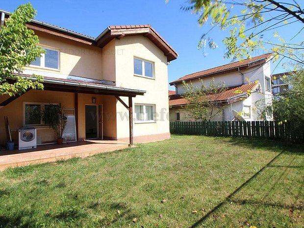 Pipera - vila in complex rezidential langa OMV/ renovata 2018 - imaginea 1
