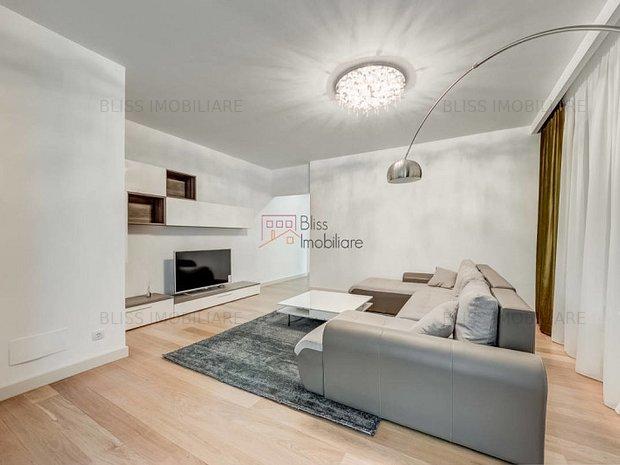 BLISS Imobiliare - Apartament 3 camere î: Herastrau, Bucharest, Romania