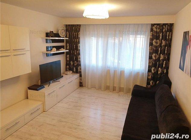 Apartament 4 camere in Aviatiei, mobilat si utilat complet,loc parcare - imaginea 1