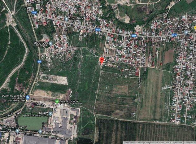 Glina, Ilfov, teren intravilan 2650mp - imaginea 1