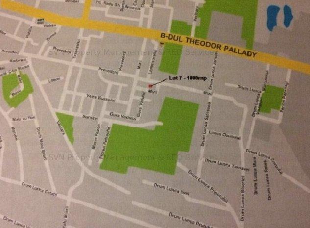 Vanzare teren -Theodor Pallady 1000 mp: 1