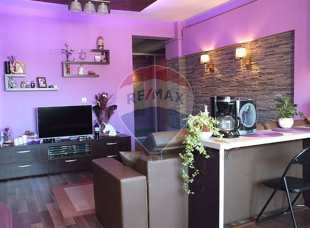 Apartament 3 camere semidecomandat, Str Stejarului, Floresti - imaginea 1