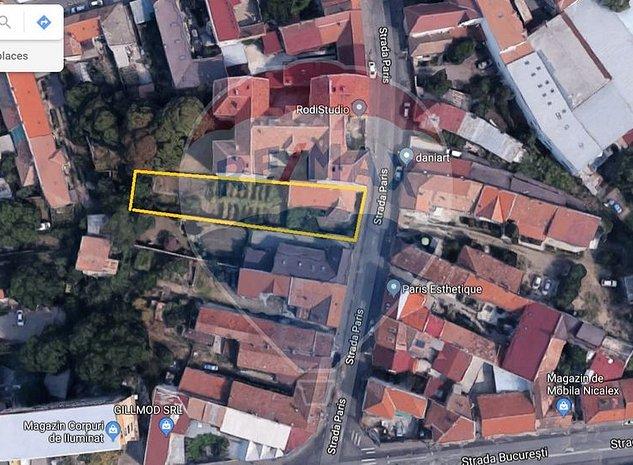Teren constructii - destinatie mixta - zona strazii Bucuresti - imaginea 1
