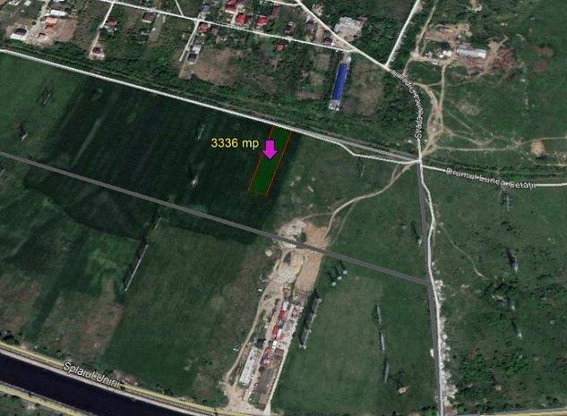 Teren  in sectorul  3,  suprafata  de  3336 mp - imaginea 1