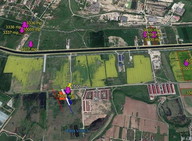Terenuri situate in zona Splaiul Unirii in sectoarele 3 si 4 - imaginea 1