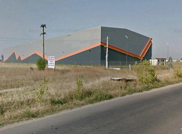 Teren industrial Popesti Leordeni - Sos. Oltenitei (DANUBIANA) - imaginea 1
