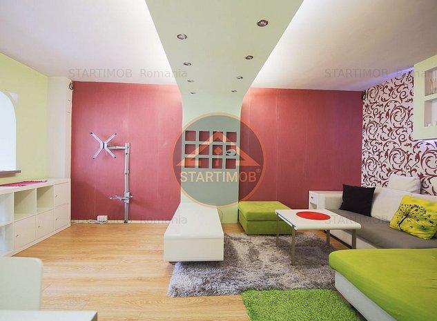 Apartament mobilat trei camere Racadau - imaginea 1