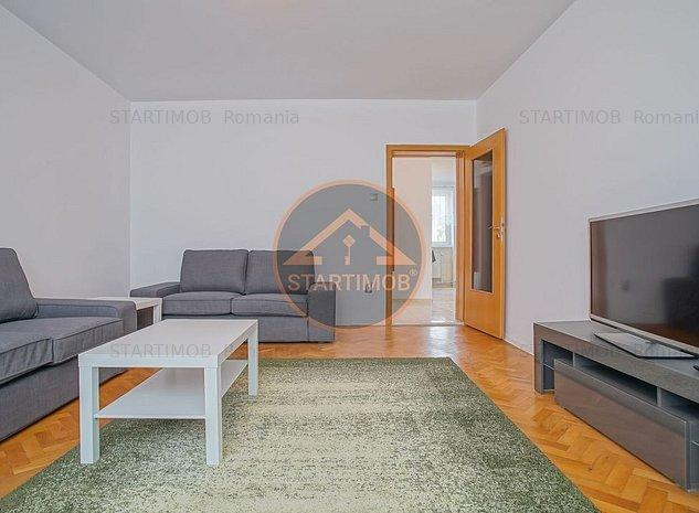 Apartament mobilat doua camere cu garaj Centru Civic - imaginea 1