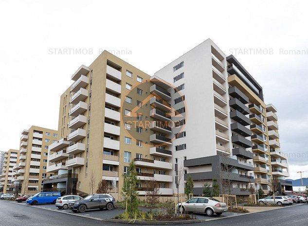Apartament mobilat 3 camere Urban Plaza cu parcare - imaginea 1