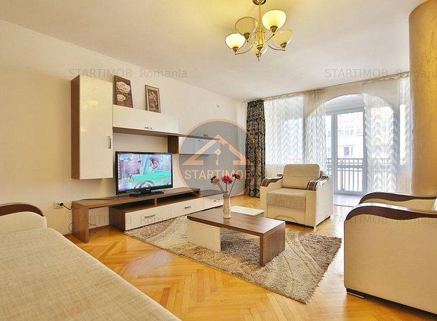 Apartament mobilat 3 camere  Centru Civic - ONIX - imaginea 1