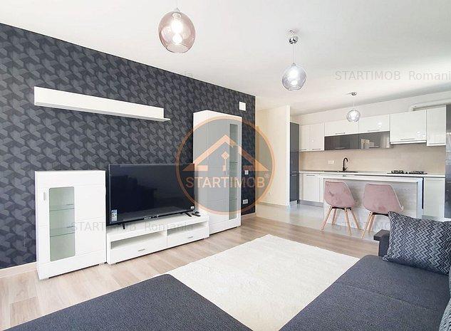 Apartament mobilat doua camere cu parcare Urban Plaza - imaginea 1