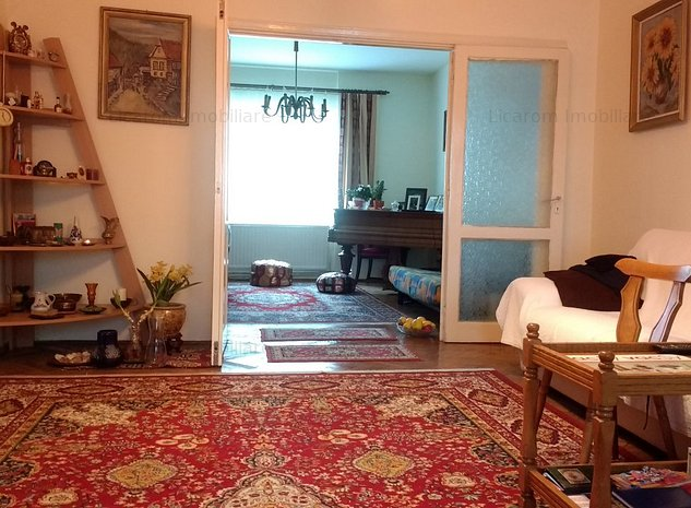 Casa singur in curte zona Meomorandului-Horia,7 camere,teren 550 mp - imaginea 1