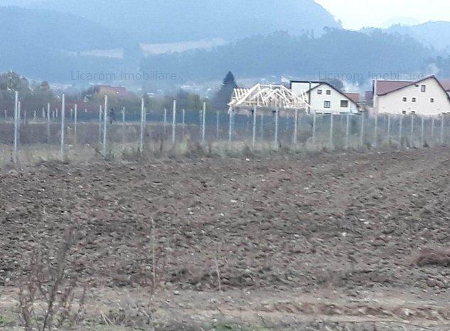 Teren intravilan pentru constructii vile Sacele Turches Str Postavarului  - imaginea 1
