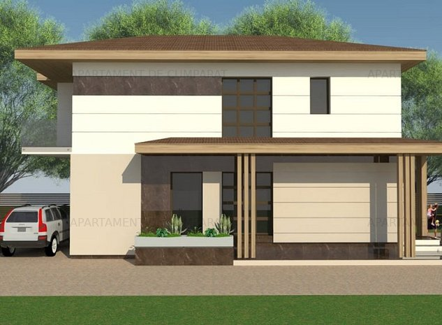 Casa individuala, singur curte,cu finisaje premium ! - imaginea 1