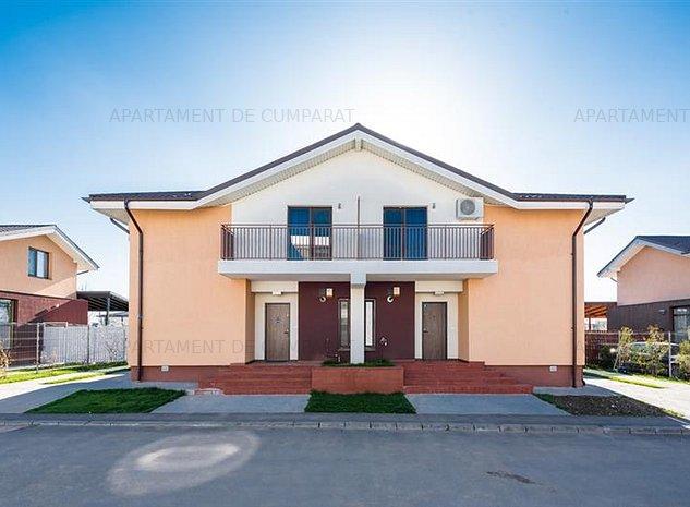 Vila mobilata - utilata ! Ansamblul Ambasador - Safirului, Bragadiru! - imaginea 1