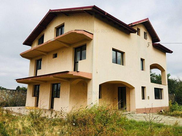 Vila P+E+M si teren 794 mp, Sat Balteni, Contesti, Dambovita - imaginea 1