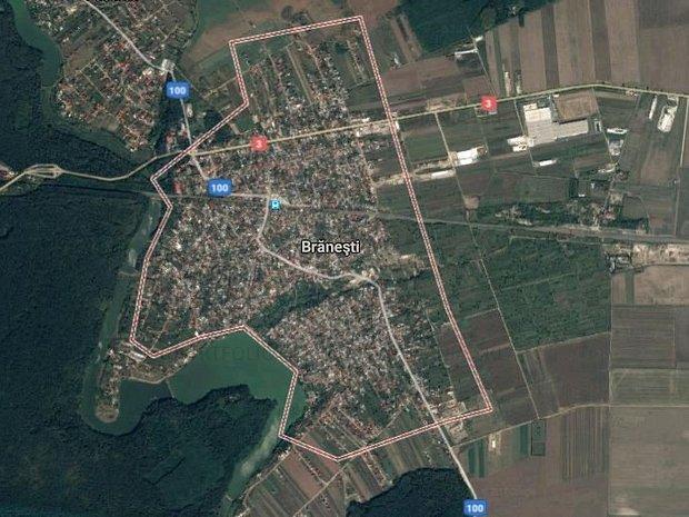 Teren 9.000 mp Branesti, Ilfov - imaginea 1