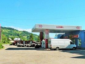 Statie de carburant în Telciu