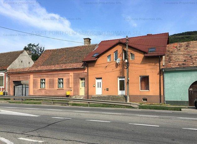 Vila spatiu comercial si teren Viisoara, Bristrita - imaginea 1