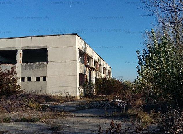 Teren intravilan si constructii 34.513 mp, Comuna Teiu, Jud. Arges - imaginea 1